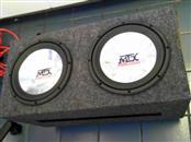 MTX AUDIO Car Speakers/Speaker System ROADTHUNDER 10 INCH SUBWOOFER